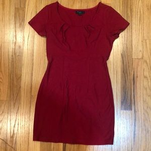 Red going out bodycon dress